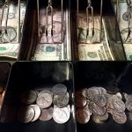 American Currency in Cash Register